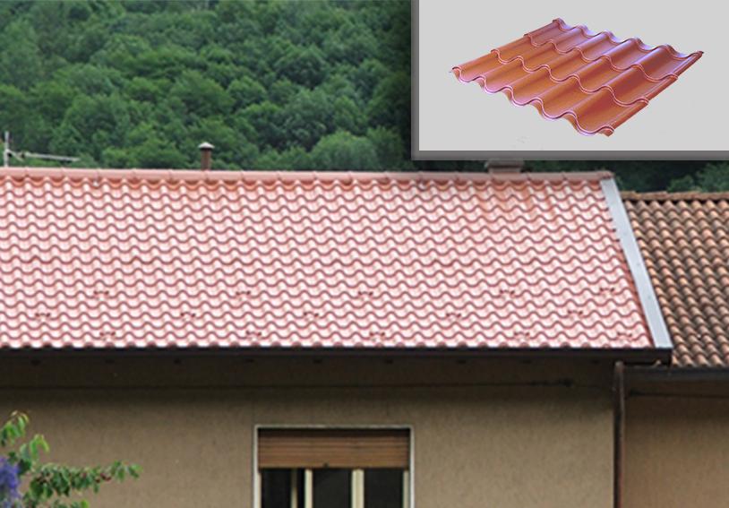 Coperture Metalliche Ventilate E Coibentate Per Tetti
